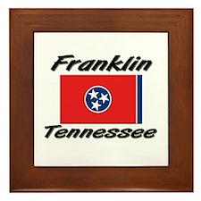 Franklin Tennessee Framed Tile