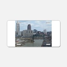 Cute Cleveland ohio Aluminum License Plate