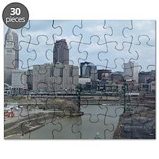 Cool Cleveland ohio skyline Puzzle