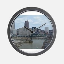 Cute Cleveland ohio Wall Clock