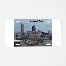 Funny Cleveland ohio Aluminum License Plate
