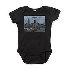 Cute Skyline Baby Bodysuit