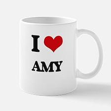 I Love Amy Mugs
