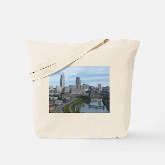 Unique Cleveland Tote Bag