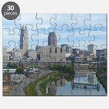 Cleveland ohio skyline Puzzle