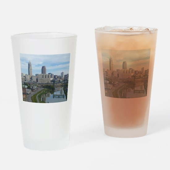Cute Location Drinking Glass