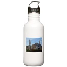 Unique Terminal tower cleveland Water Bottle
