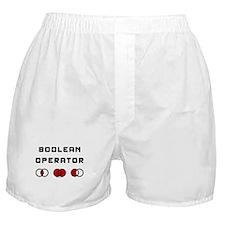Boolean Operator Boxer Shorts