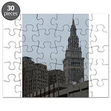 Funny Cleveland ohio skyline Puzzle