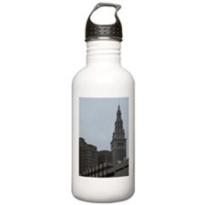 Funny Terminal tower cleveland Water Bottle