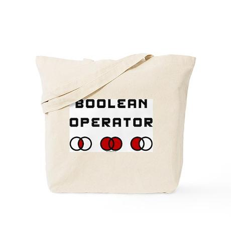 Boolean Operator Tote Bag