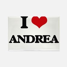 I Love Andrea Magnets