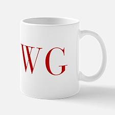 WG-bod red2 Mugs
