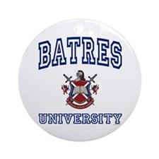 BATRES University Ornament (Round)