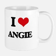I Love Angie Mugs