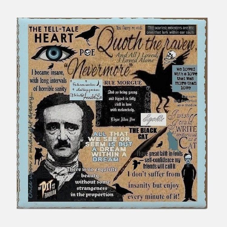 Poe Tile Coaster