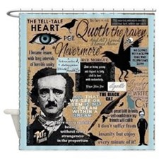 Poe Shower Curtain