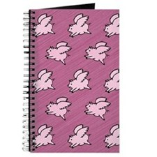 Cute Flying Pigs with Wings Journal