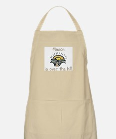 Mason is over the hill BBQ Apron