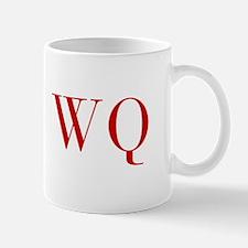 WQ-bod red2 Mugs