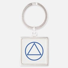 ALCOHOLICS ANONYMOUS Keychains