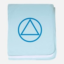 ALCOHOLICS ANONYMOUS baby blanket