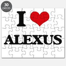 I Love Alexus Puzzle