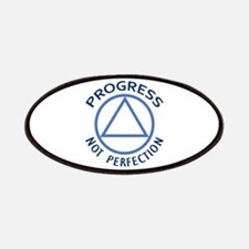 PROGRESS NOT PERFECTION Patches