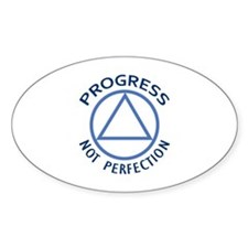 PROGRESS NOT PERFECTION Decal