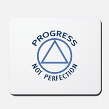PROGRESS NOT PERFECTION Mousepad