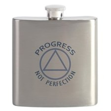 PROGRESS NOT PERFECTION Flask