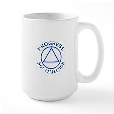 PROGRESS NOT PERFECTION Mugs