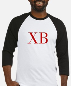 XB-bod red2 Baseball Jersey