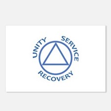 UNITY SERVICE RECOVERY Postcards (Package of 8)