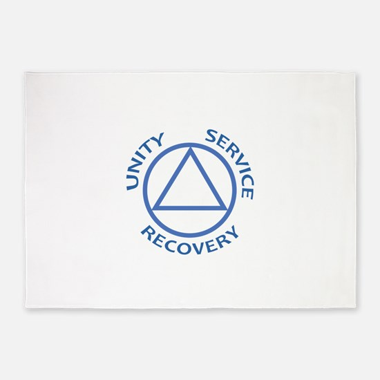 UNITY SERVICE RECOVERY 5'x7'Area Rug