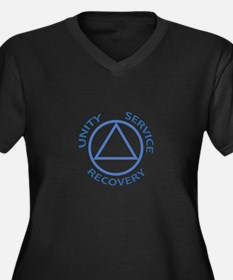 UNITY SERVICE RECOVERY Plus Size T-Shirt