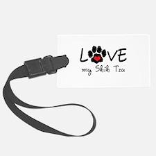 LOVE MY SHIH TZU Luggage Tag
