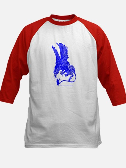 Hippogryph (Blue) Kids Baseball Jersey