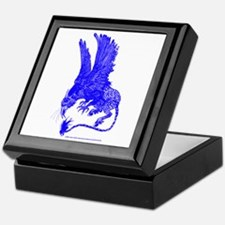Hippogryph (Blue) Keepsake Box