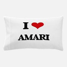 I Love Amari Pillow Case