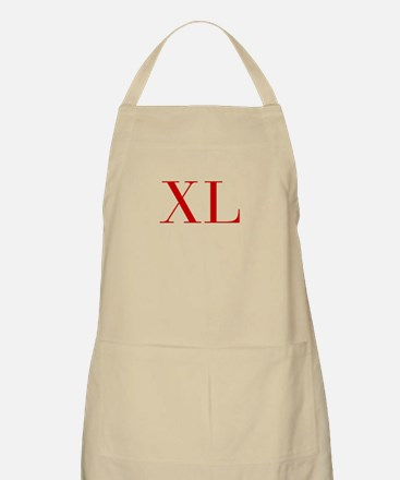 XL-bod red2 Apron