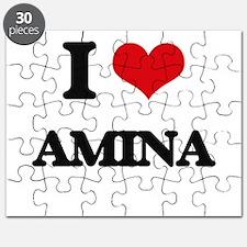 I Love Amina Puzzle
