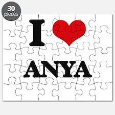 I Love Anya Puzzle