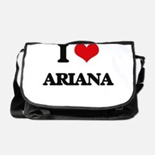 I Love Ariana Messenger Bag