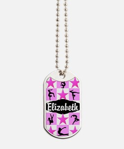 LOVELY GYMNAST Dog Tags