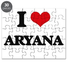 I Love Aryana Puzzle