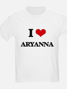 I Love Aryanna T-Shirt