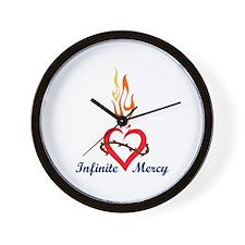 INFINITE MERCY Wall Clock