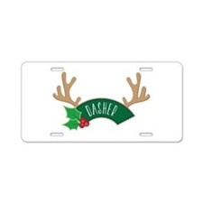 Dashed Aluminum License Plate