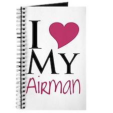 Cute I heart my airman Journal